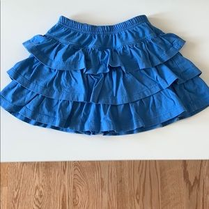 Hanna Andersson Girls Skirt Size 120 (US 6-7)